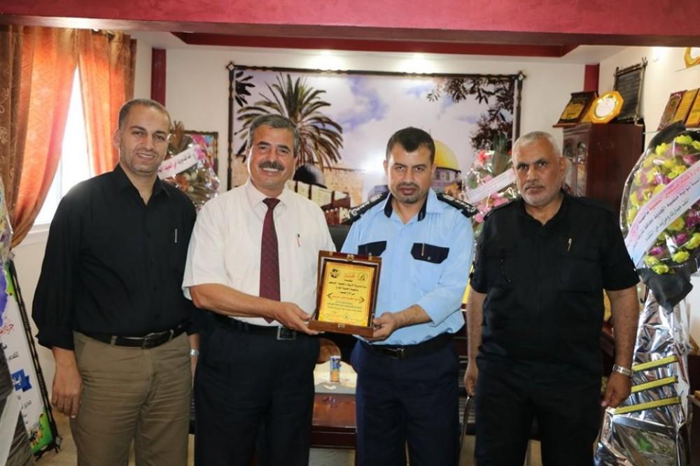 تربية الوسطى تبحث التعاون المشترك مع شرطة المحافظة الوسطى