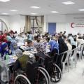 إفطار جماعي لذوي الشلل الدماغي وعائلاتهم