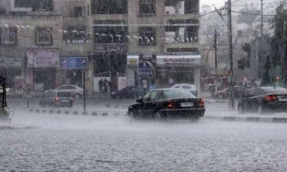 أمطار في فلسطين