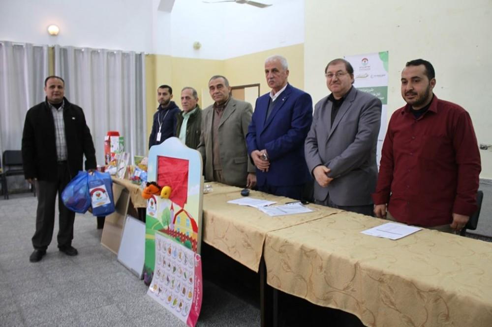 تعليم شمال غزة يقدم وسائل تعليمية وقرطاسية لمدارس المرحلة الأساسية