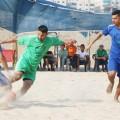 كأس القطاع للكرة الشاطئية : تأهل شباب رفح والشجاعية والرياضي