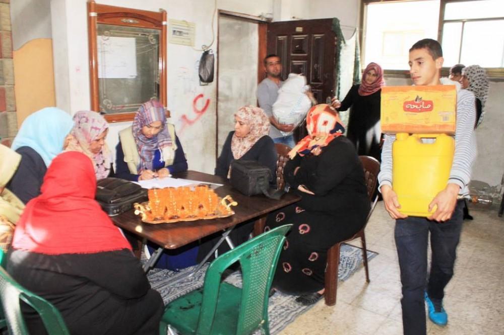 خلال مشروع التمكين الاقتصادي للنساء