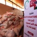 الوئام الخيرية توزّع مساعدات قافلة «ليدي ليلى» التركية