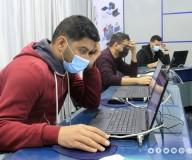 الاختبارات الالكترونية لمجموعة من الوظائف.. تصوير| مدحت حجاج