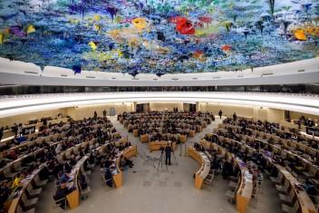 """أمريكا تحمي """"إسرائيل"""" بعد انسحابها من مجلس حقوق الإنسان"""