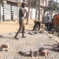 بلدية خانيونس:  استمرار العمل بمشروع تطوير شارع جمال عبد الناصر