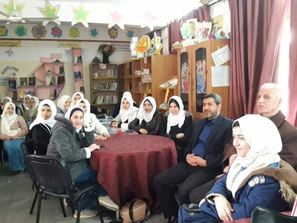 تعليم شمال غزة تشرع بتنفيذ المرحلة الثانية من مشروع الاستعداد والحماية