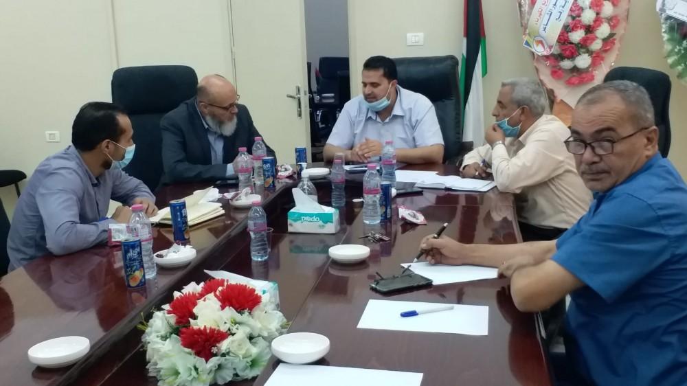 الحكم المحلي تجري زيارة تفقدية لبلديات محافظة رفح