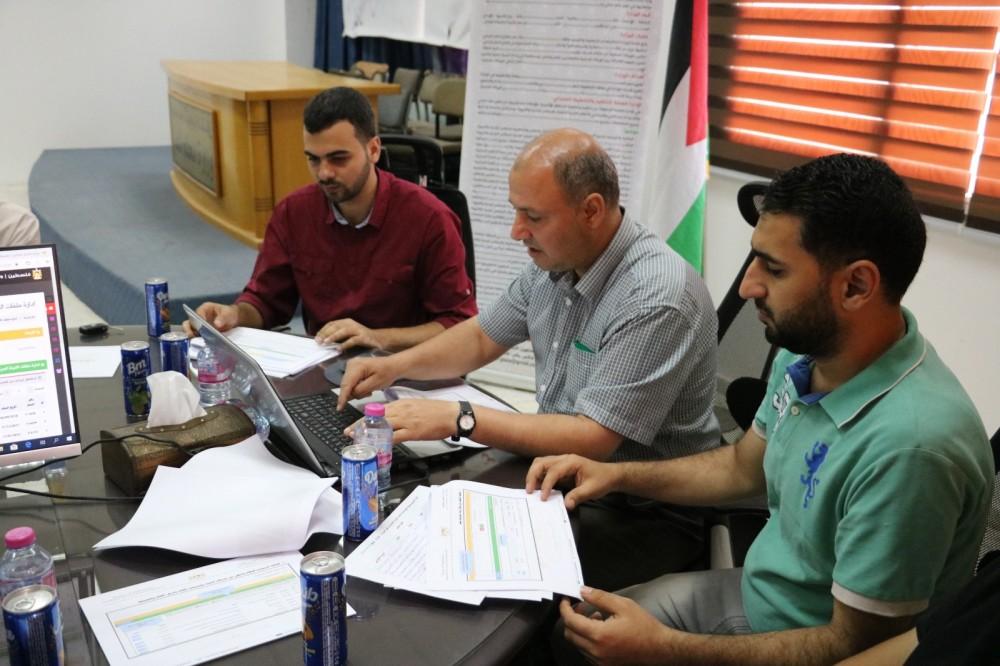 الحكم المحلي تنظم ورشة عمل لإدارة ملفات اللجنة المركزية إلكترونياً