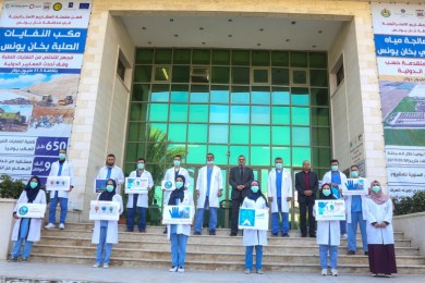 مجمع ناصر ينفذحملة لرفع وعي الجمهور بمخاطر تفشي فايروس كورونا