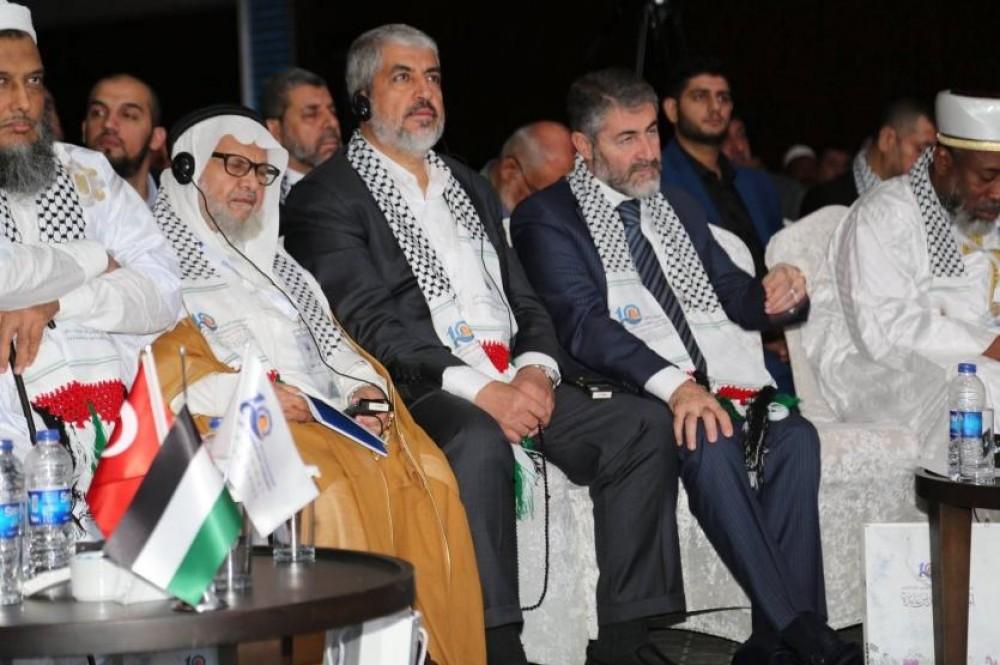 مشعل خلال المؤتمر العاشر لرواد بيت المقدس وفلسطين