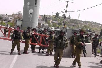 استشهاد شاب وإصابة جندي بعملية طعن جنوب نابلس