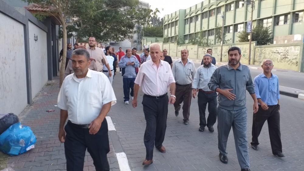 مديرية شمال غزة تنفذ نشاطاً رياضياً لموظفيها بعنوان