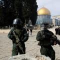 قوات الاحتلال في باحات الأقصى