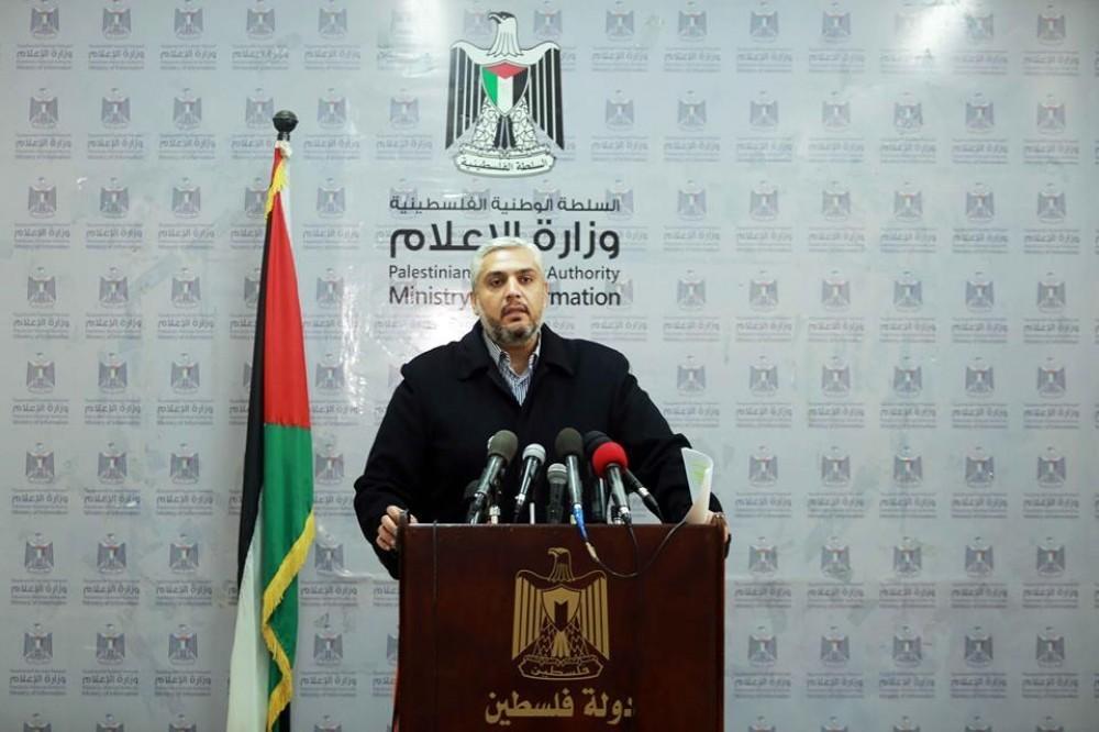 رئيس المكتب الإعلامي الحكومي بغزة سلامة معروف