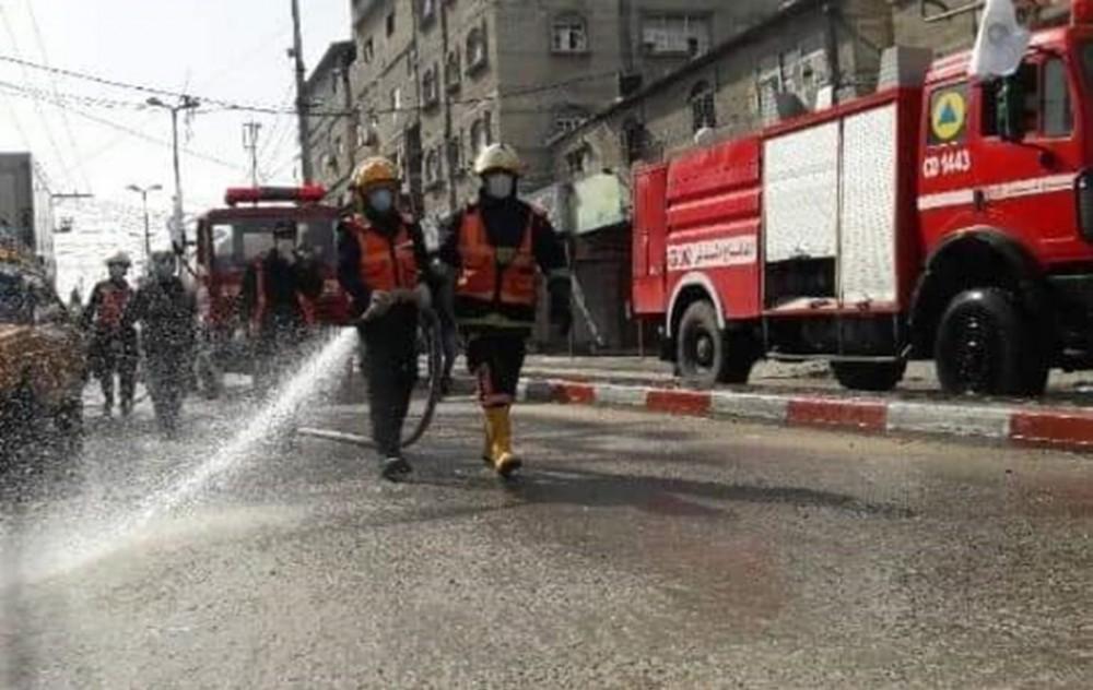 الدفاع المدني في شمال غزة يُنفذ 275 مهمة خلال يونيو