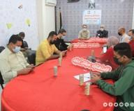وزارة الإعلام بغزة تنظم حملة إلكترونية توعوية حول مخاطر الاستهتار بفيروس كورونا وسبل الوقاية منه بالتعاون مع فريق PalConnect/تصوير: مدحت حجاج