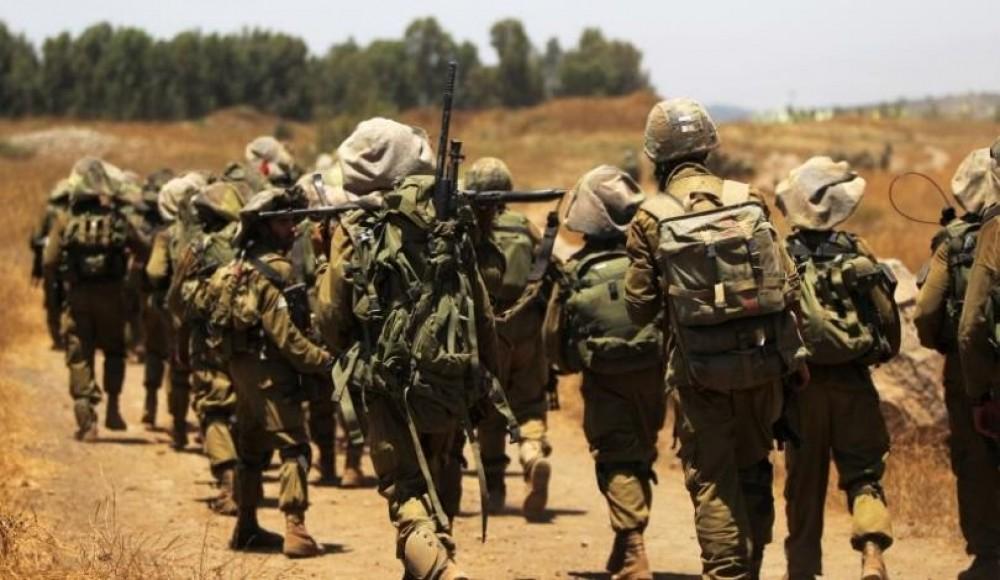 مناورة لجيش الاحتلال