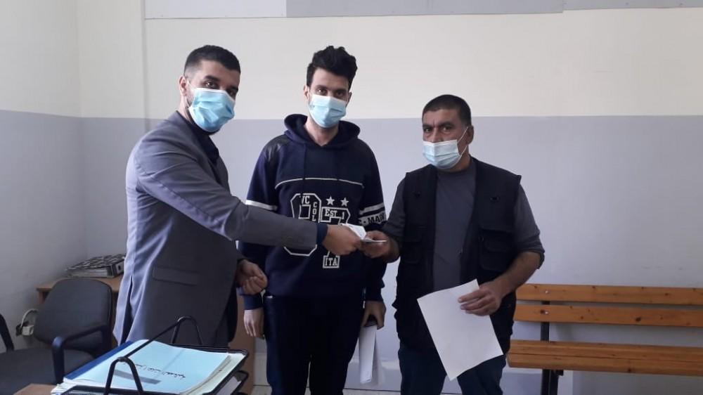 وزارة العمل تنفذ مخالصة عمالية بقيمة 40 ألف شيكل