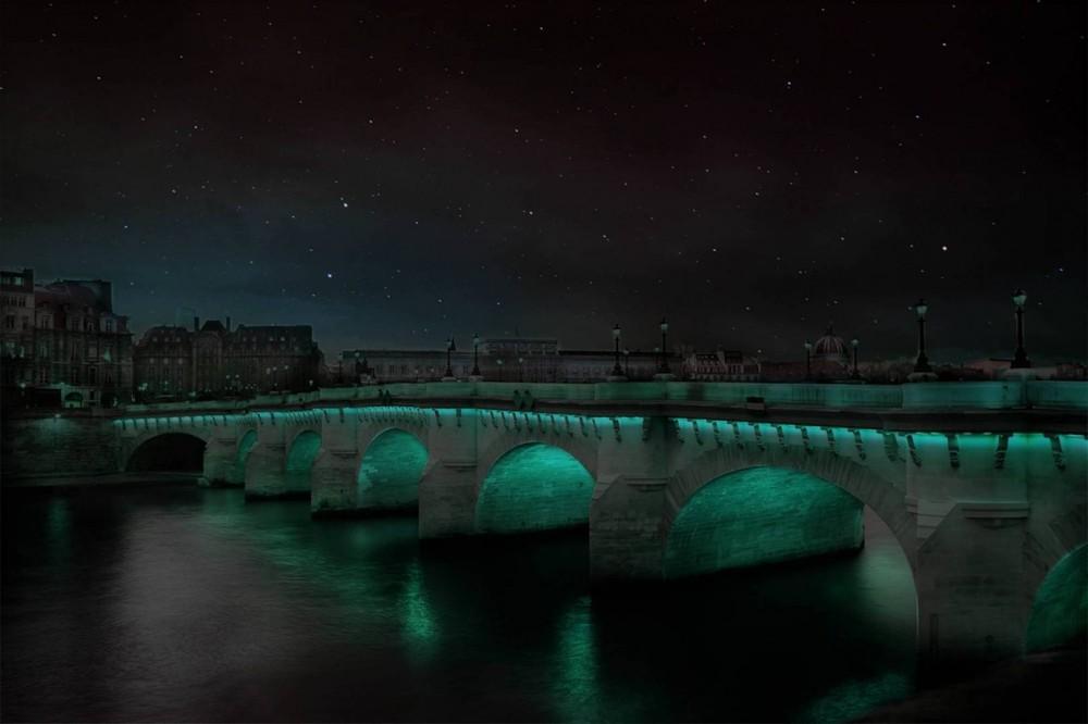 جسر من الاسمنت الحي