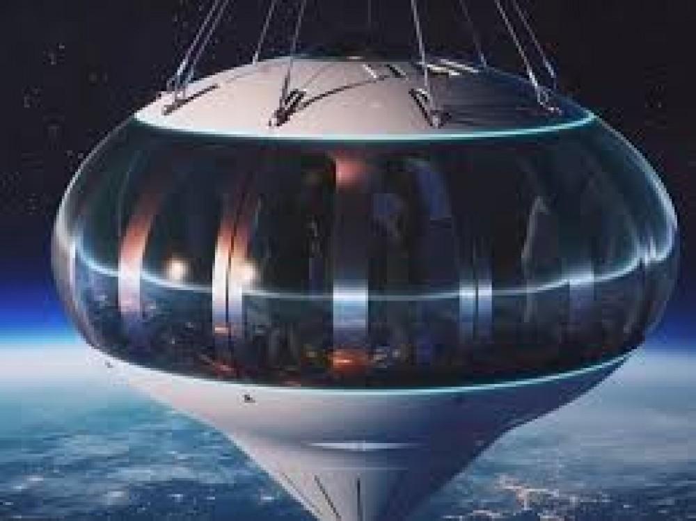 منطاد متطور سيصطحب السياح في جولة مثيرة إلى الفضاء!