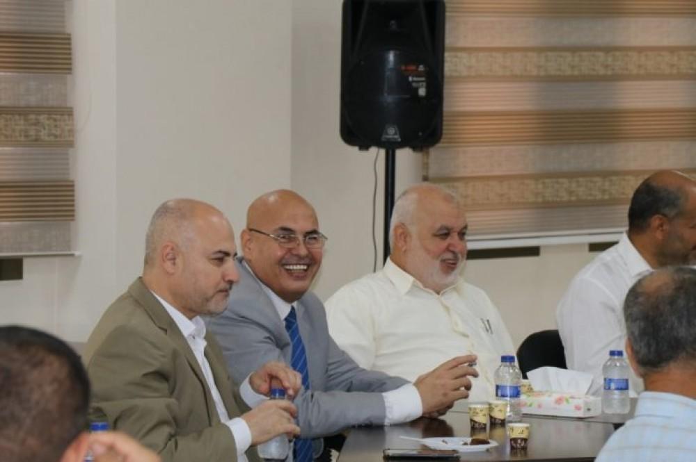 الأمانة العامة تعقد لقاءً للمعايدة بمناسبة عيد الأضحى المبارك