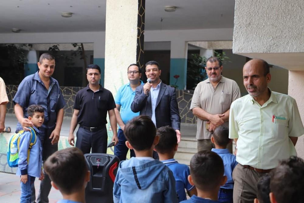 تعليم شمال غزة يشيد بالتعاون البنّاء مع بلدية جباليا النزلة