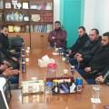 مدير أوقاف الوسطى يستقبل وفدًا من رابطة مساجد المحافظة