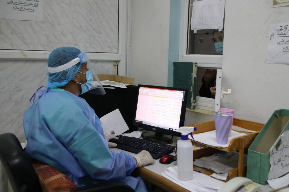 المستشفى الأوروبي يوفر خدمة تسوق للمرضى