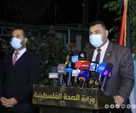 المؤتمر الطارئ لوزارتي الصحة والداخلية.. تصوير: مدحت حجاج