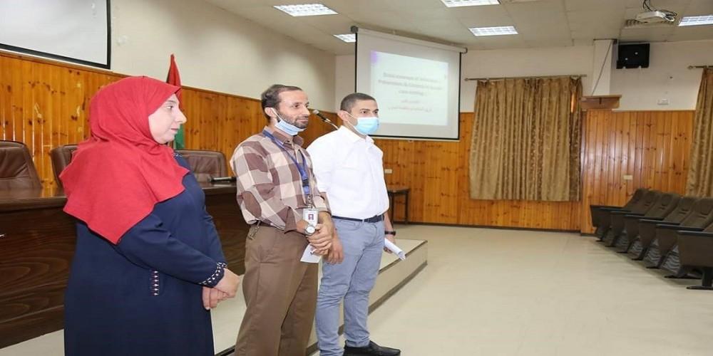 التنمية البشرية بالصحة تواصل عقد البرنامج التدريبي في مكافحة العدوى