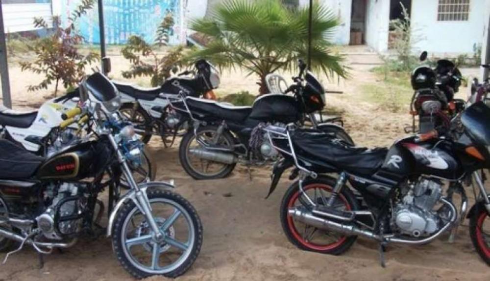 حملة على الدراجات النارية الغير قانونية  خلال الأسبوع المقبل
