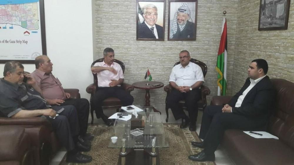 وزارة الأشغال تعزز التعاون المشترك مع  اتحاد المقاولين الفلسطينيين
