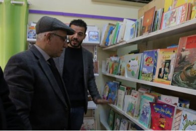 بلدية غزة تفتتح قسم الأطفال بحلته الجديدة في المكتبة العامة