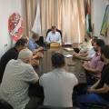 مدير أوقاف غزة يناقش خطط الأقسام بالمديرية ومتابعة تنفيذها