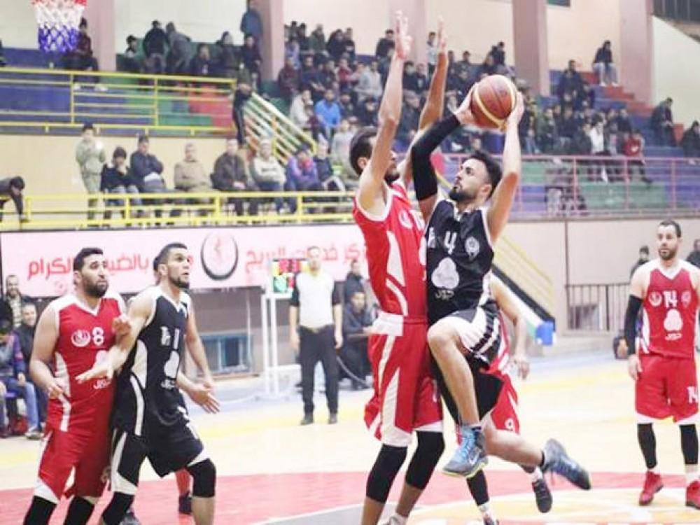 فريق كرة السلة بنادي شباب البريج  يحقق فوزاً ثميناً على منافسه بيت حانون الأهلي