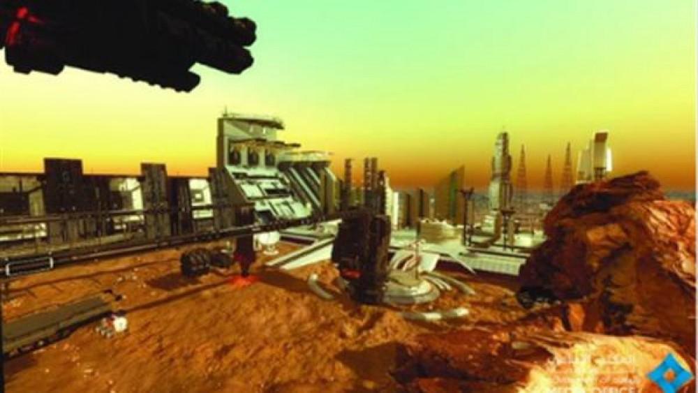 مشروع علمي لإنشاء مدينة مصغرة على كوكب المريخ