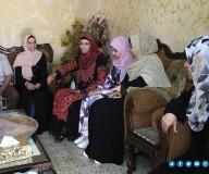 الطالبة شهد أبو شريف ، الحاصلة على معدل 98.1 % في الفرع الصناعي    تصوير: مدحت حجاج
