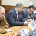 وكيل وزارة الحكم المحلي يتفقد مشاريع التطويرية لبلدية خان يونس