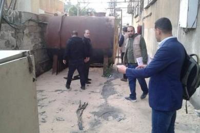 بلدية غزة تنظم 75 جولة كشفية على محال المهن الخطرة