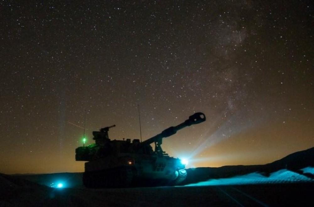 مناورات عسكرية إسرائيلية ليلية