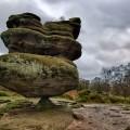 صخرة تتحدى قانون موازنة الطبيعة!!