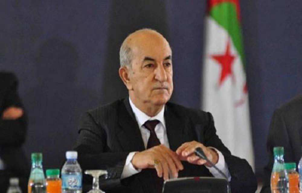الرئيس الجزائري