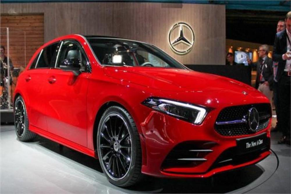 طرح سيارة كهربائية جديدة  من شركة مرسيدس في سبتمبر المقبل