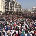 الجزائر .. استقبال تاريخي غير مسبوق لأبطال افريقيا