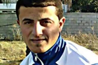 ايقاف لاعب كرة قدم بغزة