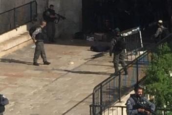 شهيدة بالقدس زعم الاحتلال أنها حاولت طعن جندي