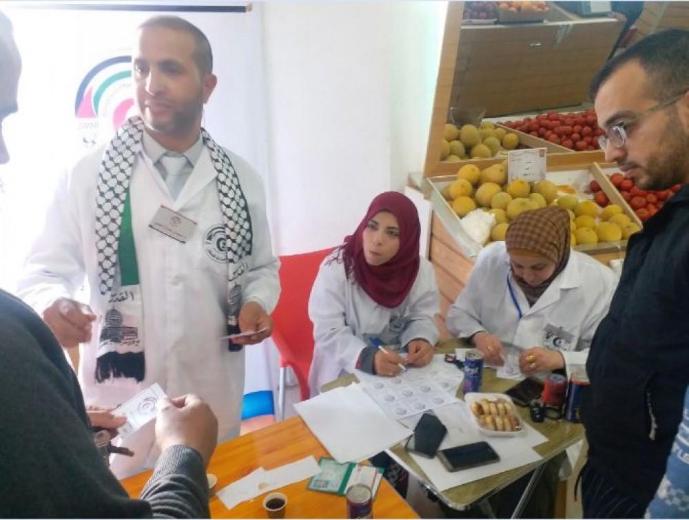 نقابة الصيادلة تقدم 500 قسيمة شرائية لأعضائها بمحافظات غزة
