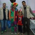 خدمات الطفولة تنظم فعالية ترفيهية للأطفال المرضى في مستشفى الرنتيسي