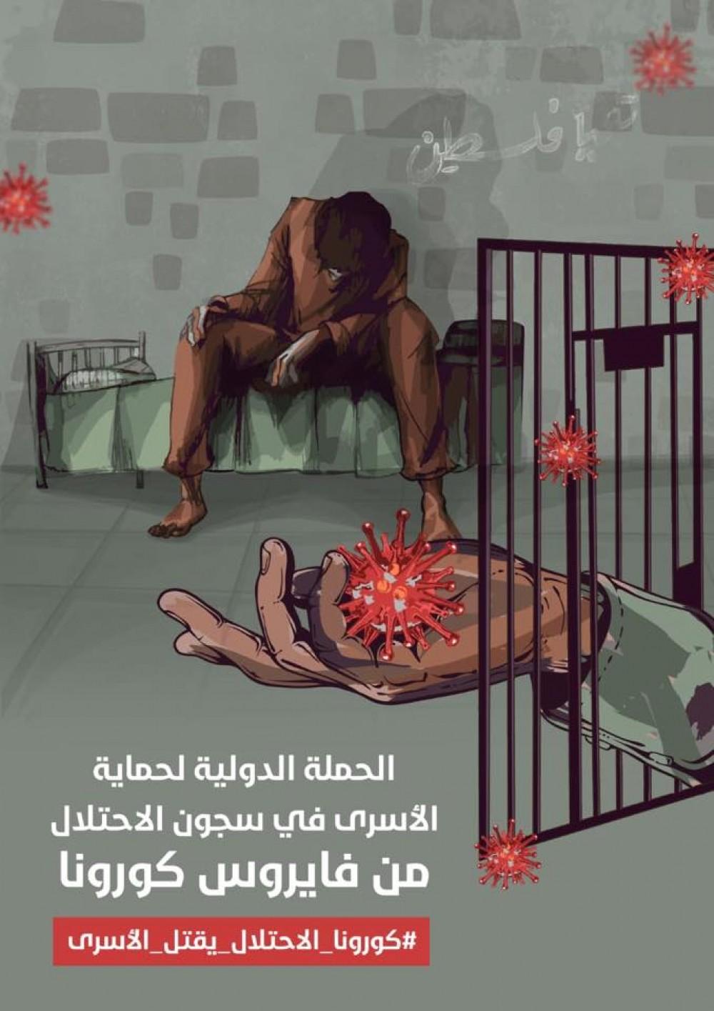 إطلاق حملة إنقاذ الأسرى في سجون الاحتلال من خطر كورونا